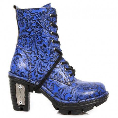 Alternative vintage style Goth blue vintage ankle boots http://www.tribugotica.com/en/womens-goth-ankle-boots/16-goth-blue-vintage-ankle-boots-heels.html?utm_campaign=crowdfire&utm_content=crowdfire&utm_medium=social&utm_source=pinterest