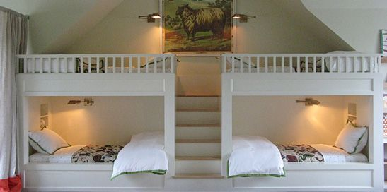 Lisa Sherry Interieurs | Interior Design I've loved the idea of built in beds since I first slept in one in a friend's guesthouse years ago. The ultimate in coziness and charm.