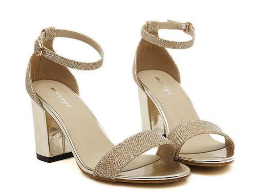 Zapatos de Fiesta en Color Dorado - Para ver más modelos ingresa a: http://zapatosdefiestaonline.com/2015/08/20/zapatos-de-fiesta-en-color-dorado/