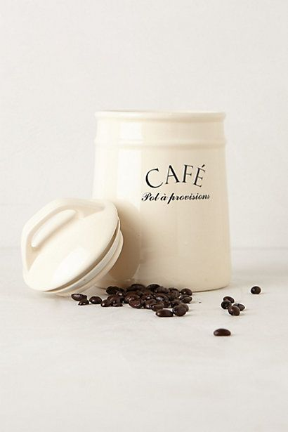 Bistro Canisters - anthropologie.com
