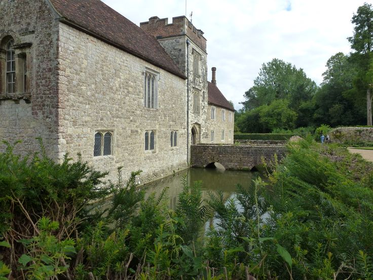Ightham Mote, Ightham, Kent is a medieval moated Manor House owned by the National Trust.