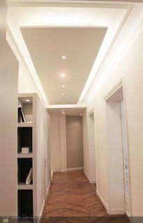 ARREDAMENTO E DINTORNI: idee per i corridoi (abbassamenti e illuminazione)