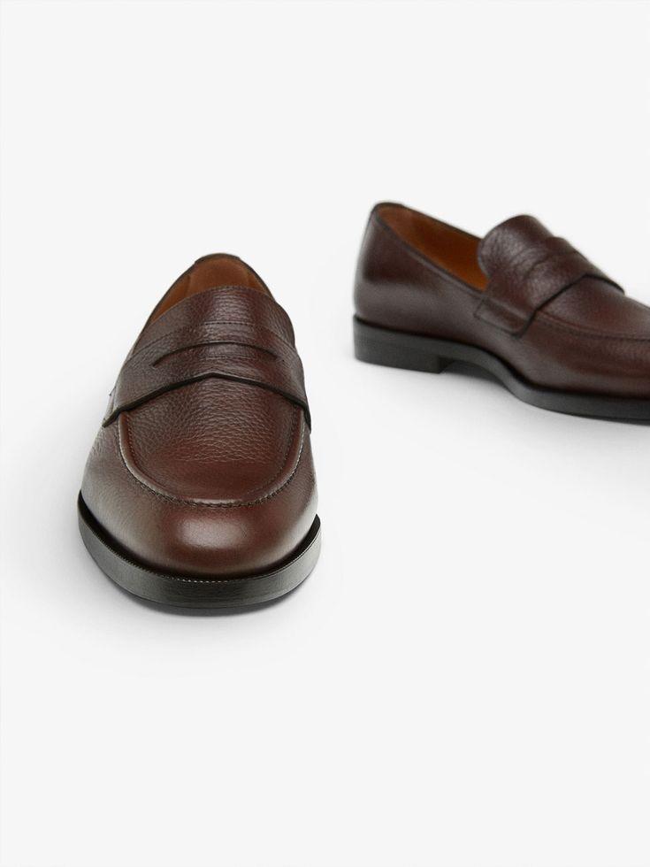 ZAPATO MOCASÍN NAPA MARRÓN de HOMBRE - Zapatos - Ver todo de Massimo Dutti de Otoño Invierno 2017 por 89.95. ¡Elegancia natural!
