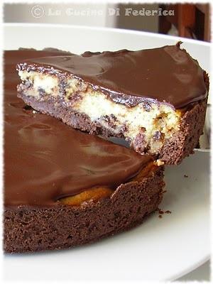 La cucina di Federica: Crostata con formaggio e cioccolato