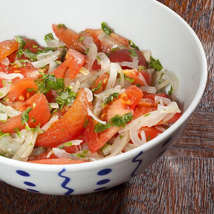 Ensalada Chilena - Chilean Tomato and Onion Salad