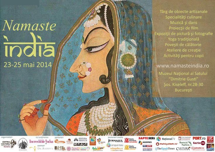 Festivalul culturii indiene ajunge la a VI-a ediţie, 23 - 25 mai 2014
