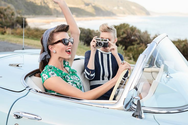 The Getaway Girls | Vintage Road Trip