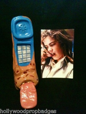 Freddy Krueger Tongue Phone Signed By Robert Englund W