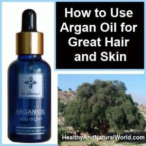 benefits of argan oil for hair and skin  -  http://www.healthyandnaturalworld.com/how-to-use-argan-oil-for-great-hair-and-skin/
