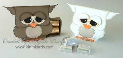 Matchbox owls
