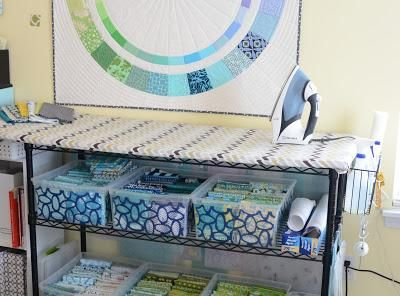 Ironing board + storage :-)