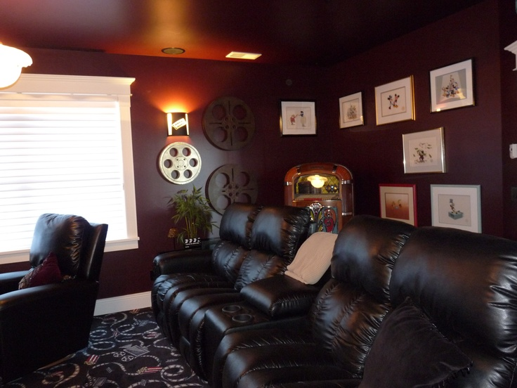 Theater Room Seating Lazy Boy Recliners | Media Room | Pinterest