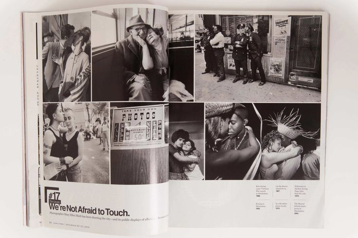 We Are Not Afraid to Touch - Mary Ellen Mark