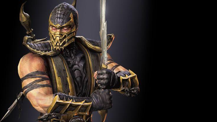 Mortal Kombat Scorpion King Wallpaper #1633 Wallpaper   Download ...