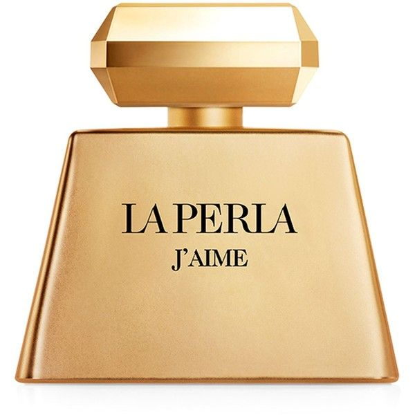 La Perla J'aime Gold (EDP, 100ml) found on Polyvore featuring beauty products, fragrance, blossom perfume, flower perfume, eau de perfume, la perla perfume and flower fragrance
