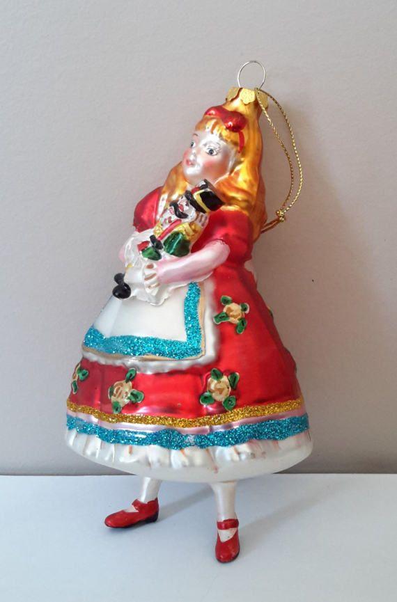 Rare. Clara with Nutcracker Christmas by ellabellascollection