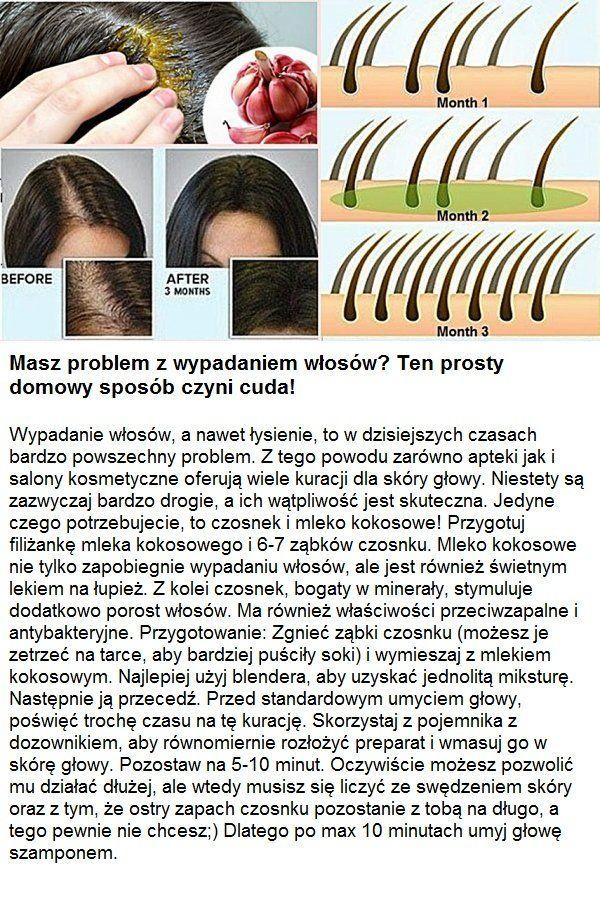 Masz problem z wypadaniem włosów? Ten prosty domowy sposób czyni cuda...