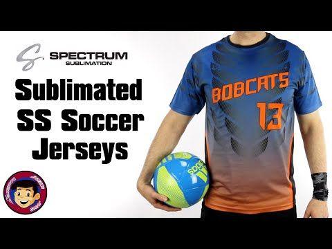 Sublimated Soccer Jerseys | Discount Sublimation | Teamwork Spectrum