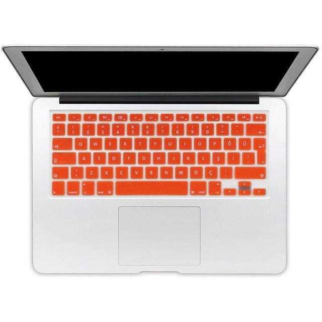 EU Turkish Version Silicone Keyboard Protector Stickers Skin For Apple Macbook Pro 13 15 17 Retina Mac Air 13 Keyboard Cover