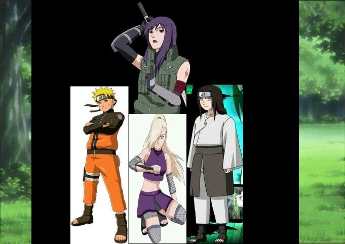 Here you are people. My personal and best team in all naruto world. Team Yugao is ready ;-)