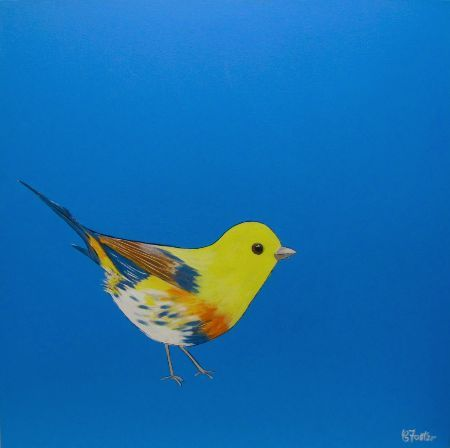Manyung Gallery Group Carole  Foster Canary Yellow