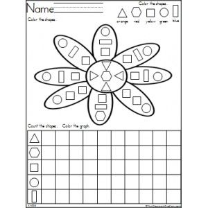 Flower Shapes and Graphing