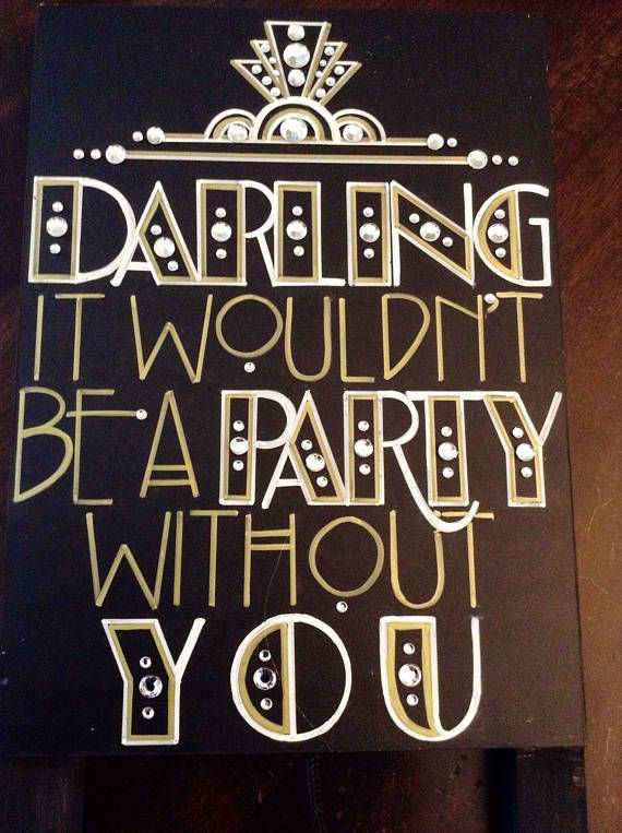 Art Deco Roaring Twenties Vintage Great Gatsby Wed…