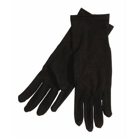 Terramar Glove Liners - Merino Wool (For Men and Women)  in Black