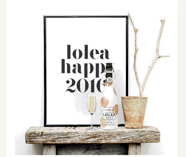 #Lolea Brut, Happy 2016