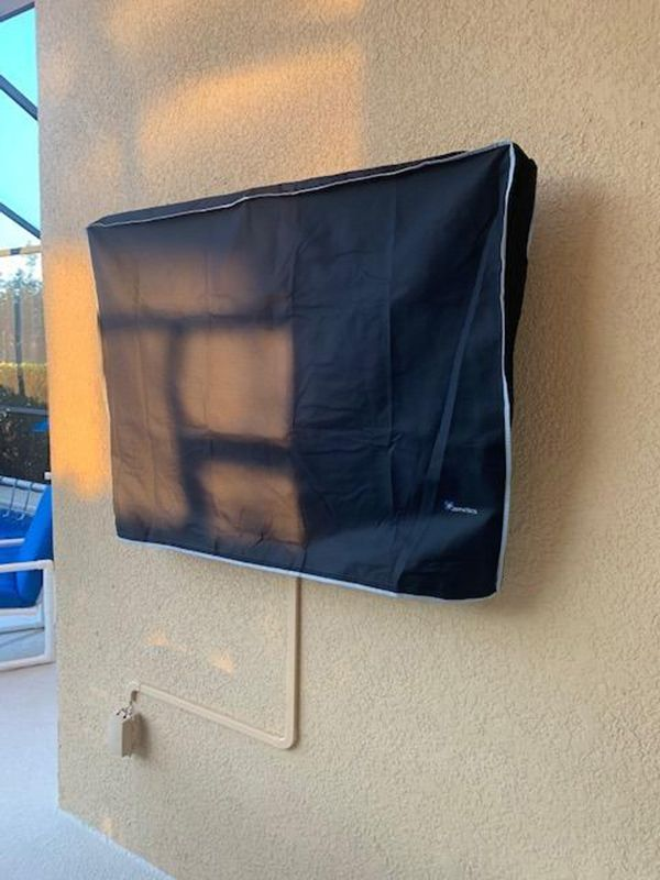 Outdoor Tv Covers Gallery With Images Outdoor Tv Covers Outdoor Tv Tv Covers