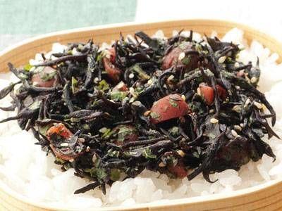 梅じそひじきふりかけ hijiki seaweed sprinkles