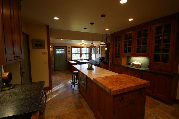 Open Concept Kitchen Large Kitchen Island Breakfast Nook