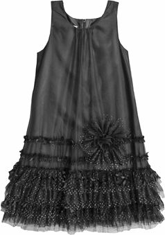 Isobella & Chloe Willow Elegant Black Tween Dress - Isobella & Chloe NEW