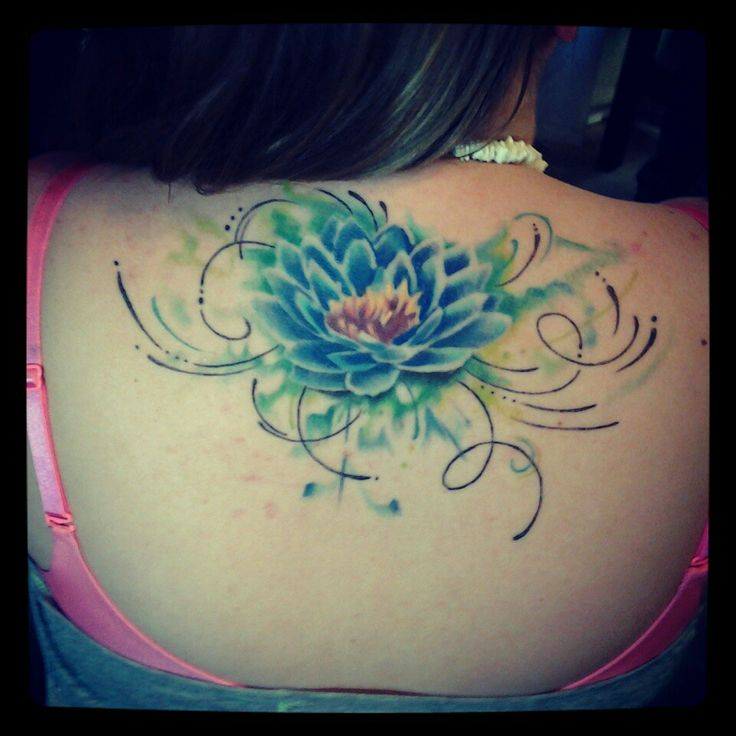 Best flower back tattoos ideas on pinterest back tattoos for Atomic tattoo columbus ga