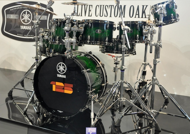 Live Custom Oak | Yamaha Drums | MusikMesse 2013