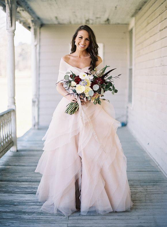 Stunning blush dress