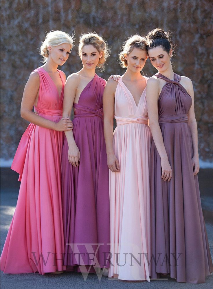 281 Best Multi Way Bridesmaid Dresses Images On Pinterest Bridesmade A Line And Dress