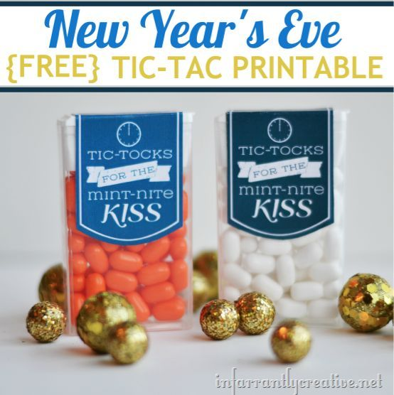 2013 New Year's Eve Printable from Infarrantly Creative, featured Angie Yeargan….