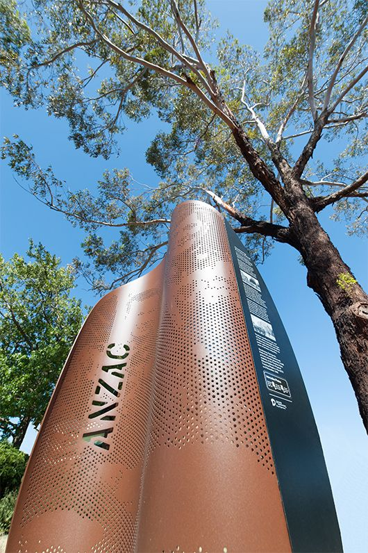 Heine Jones Signage – ANZAC Memorial Trail
