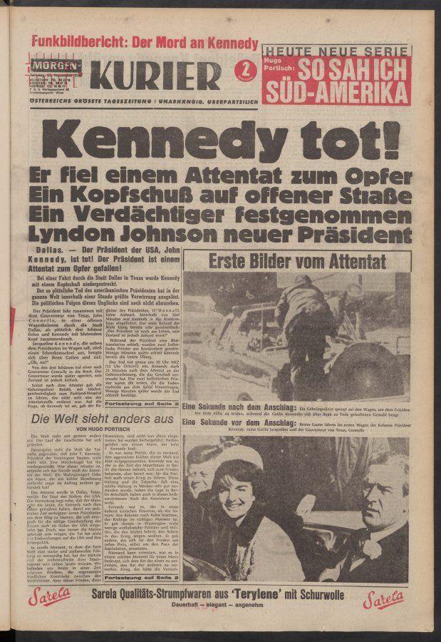 KURIER vom 23.11.1963
