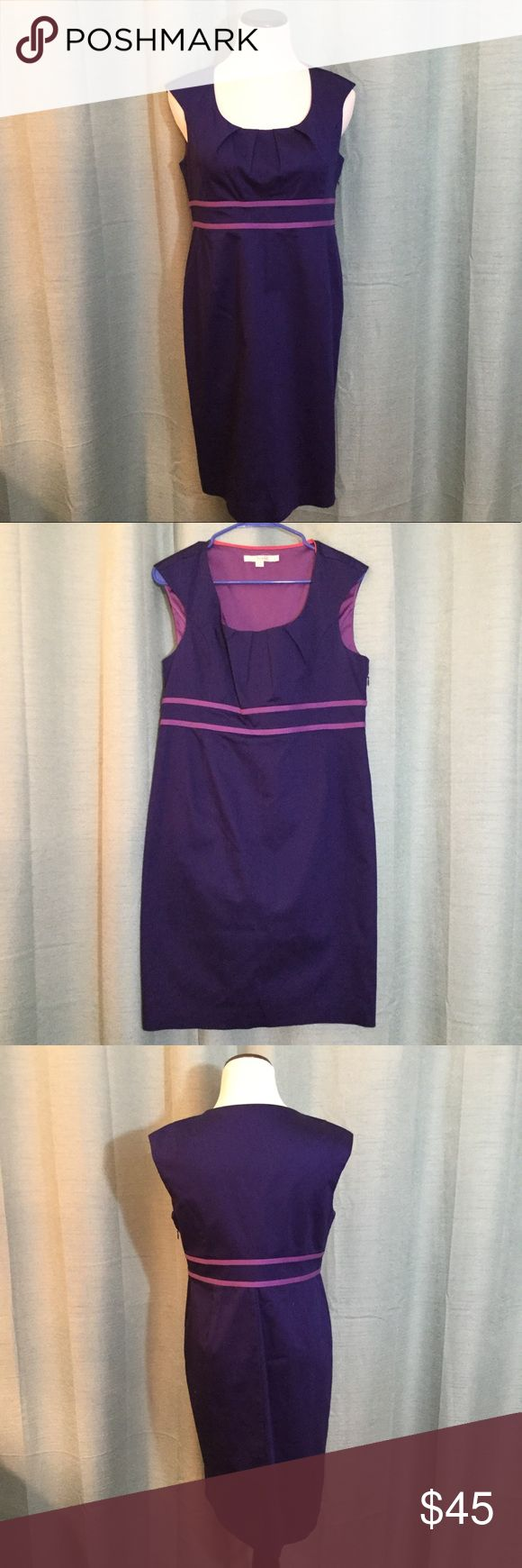 BODEN Valentine 2 Tone Purple Petite Dress BODEN Valentine 2 Tone Purple Dress.  Size 8 P Boden Dresses