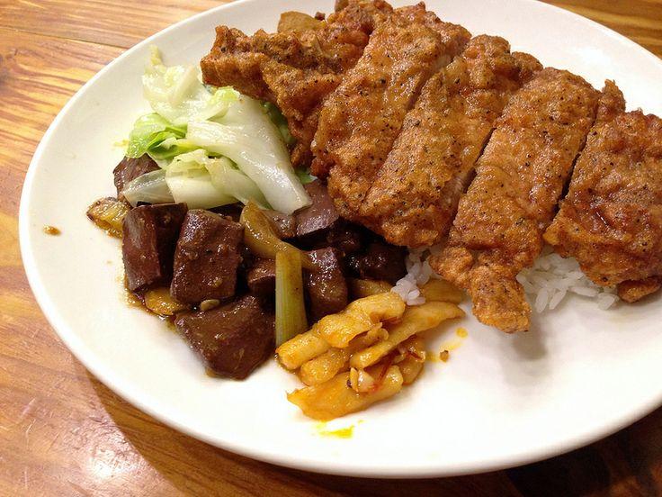 排骨飯, 麗珠什錦麵, 台北