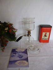 ROKI Kaffeebereiter Siphon Sintrax Jenaer Glas Kaffeebereiter 0,7 l + Anltg. 2 D