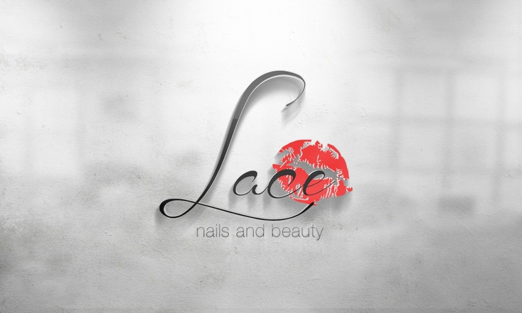 Lace Nails Logo Design