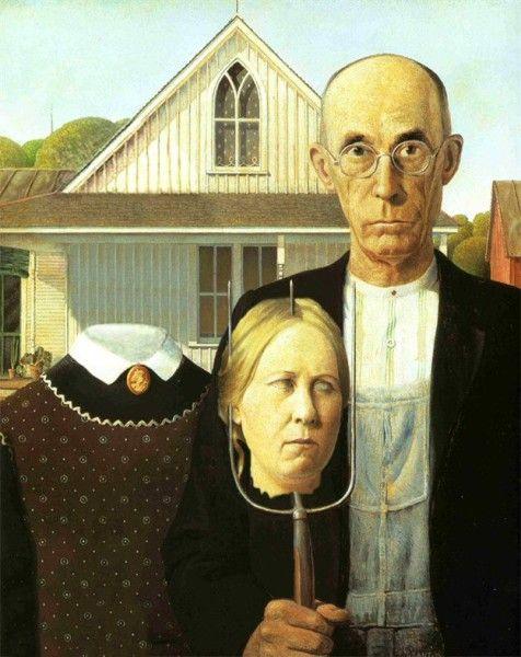 Картинки по запросу «Американская готика».