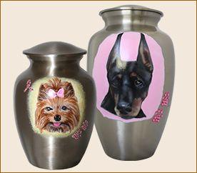 Custom Bling Pet Urns
