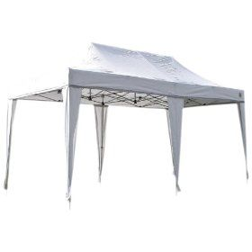 Undercover Canopy Aluminum Covers - 200 Sq.ft of Space ( 10 x 20-Feet, White)