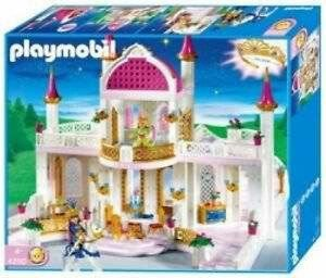 Playmobil princess castle 4250 from 1996.  I picked up a cardboard box full of this set, with all the additions and accessories.   In pristine condition.  These toys are indestructible!  eBay listing priced this at $375.00.  Whoa!!