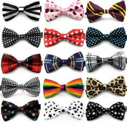 Hot Sale Mixed Pattern Bow Tie For Men (RANDOM COLOR) | Sammydress.com Mobile