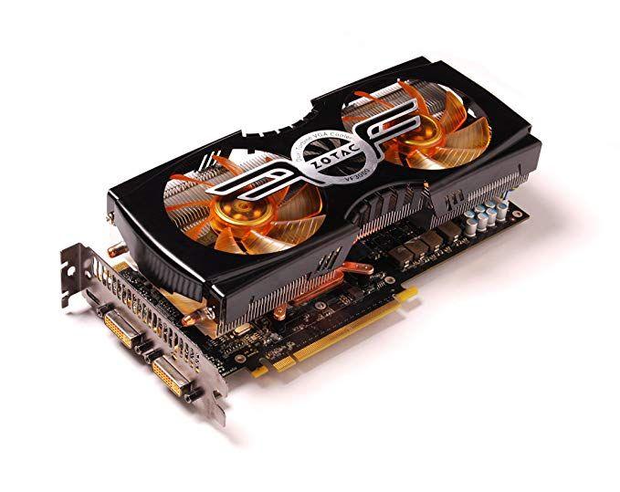 Zotac AMP GeForce GTX 470 1280 MB Graphics Card 320-bit (656MHz